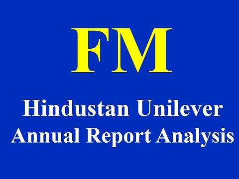 Hindustan Unilever Annual Report Analysis