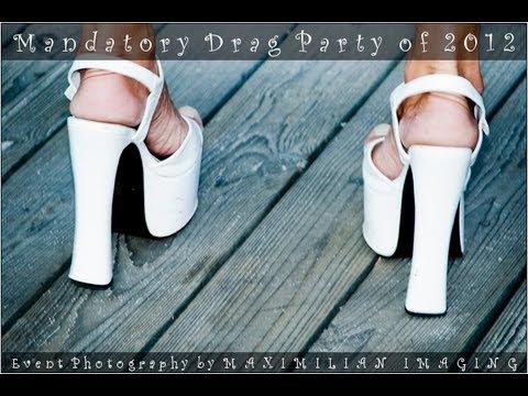 Drag Queens Walking In Heels - Mandatory Drag Party