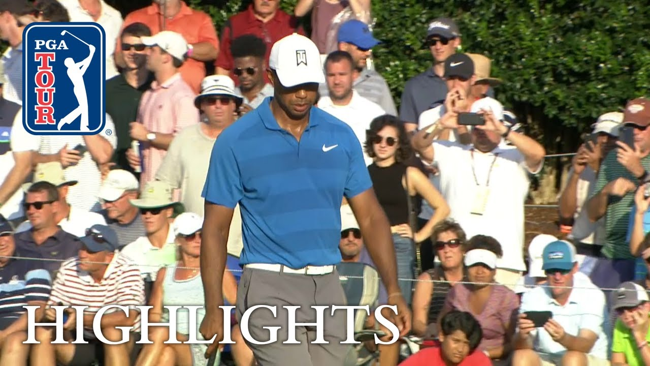 Tiger Woods' Highlights   Round 3   TOUR Championship 2018