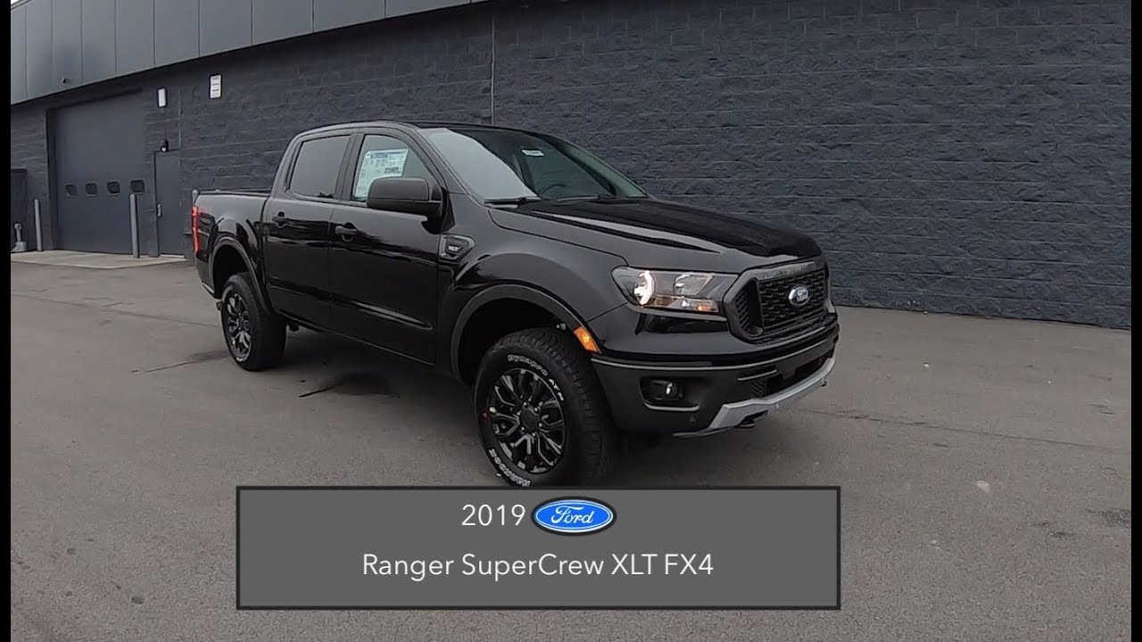 2019 Ford Ranger XLT SuperCrew FX4|In Depth Review|Test Drive - YouTube