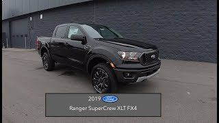 2019 Ford Ranger XLT SuperCrew FX4|In Depth Review|Test Drive