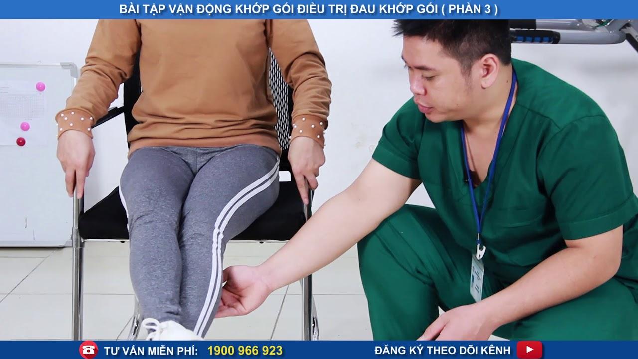 Bài tập vận động khớp gối điều trị đau khớp gối phần 3