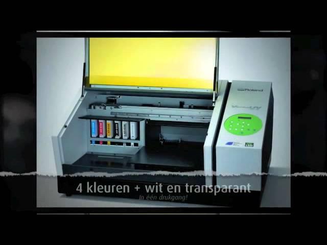 Roland VersaUV LEF-12 UV Flatbed Printer