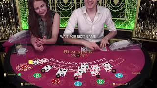 254 - Play Live Blackjack Party UK Dealers - #casino #LiveBlackjack #казино
