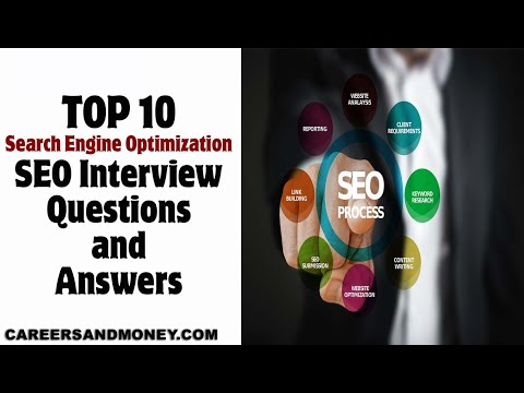 TOP 10 SEO Interview Questions and Answers