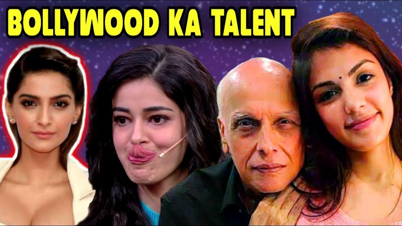Bollywood ka TALENT || ft Rhea chakraborty || san ki roast