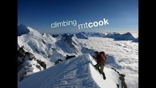 Climbing Mt Cook - New Zealand