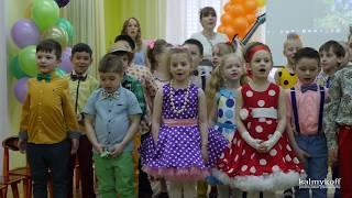 Выпускной в детском саду № 573,  апрель 2018