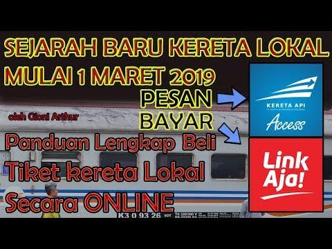 Tutorial Membeli Tiket Kereta Lokal Online Indonesia Pakai Kai