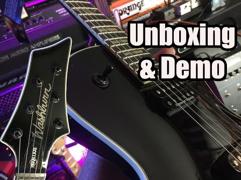 New Guitar Day!  Washburn PXL20 Parallaxe UNBOXING