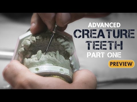 Advanced Creature Teeth - Professional Dental Appliances Part 1 - PREVIEW