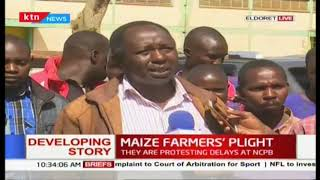 Maize farmers in Eldoret plead with NCPB to buy their produce