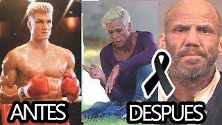ANTES Y DESPUES 2018 - Peliculas de Rocky 1,2,3,4,5 y 6 Han ...