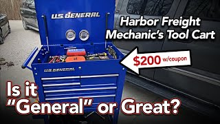 Harbor Freight Tool Cąrt Assembly and Review - U.S. General 30