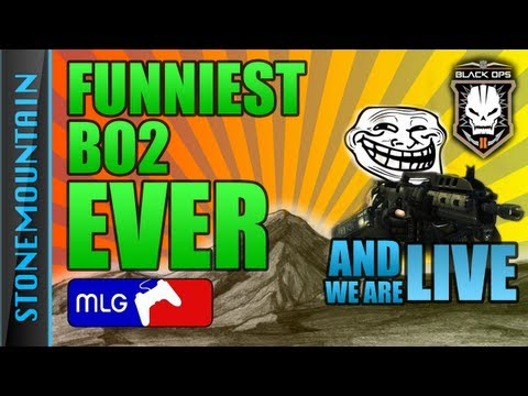 Black Ops 2 FUNNY MLG Shoutcast CODCAST Trolling Best troll in Black Ops 2 | Funniest BO2 video [50]