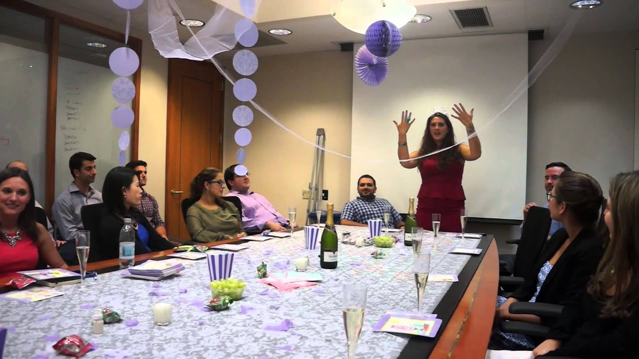 elisas office bridal shower youtube