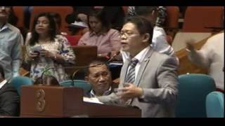 In Defense of the Party List System (1st Privilege Speech of Rep. Salvador Belaro Jr.)