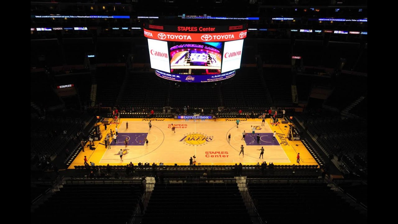 Staples center clippers