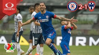 Remontada Celeste  Cruz Azul 2   1 Monterrey  Apertura 2018   Jornada 12  Televisa Deportes