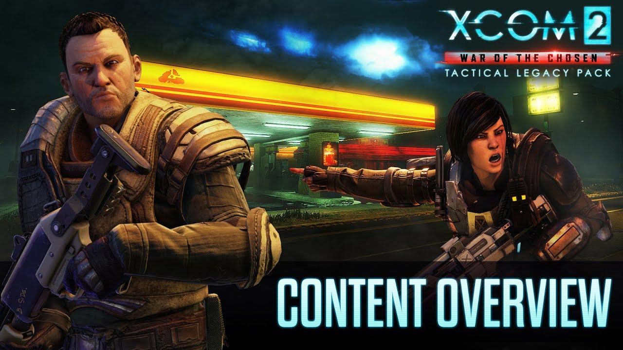 Авторы XCOM 2 анонсировали новое дополнение Tactical Legacy — видео