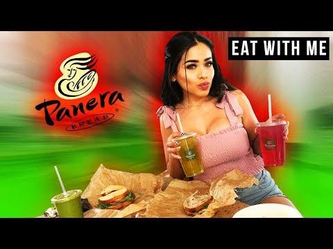 PANERA BREAD MUKBANG EATING SHOW!