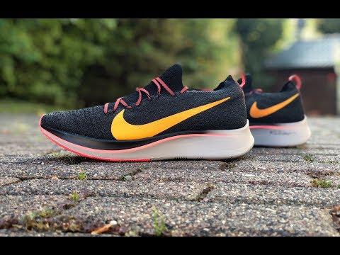 nike-zoom-fly-flyknit-'orange/black'-|-unboxing-&-on-feet-|-running-shoes-|-2018