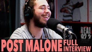 "Post Malone on ""Stoney"", Justin Bieber, Kanye West, And More! 