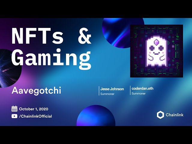 Aavegotchi and Chainlink Live Q&A: DeFi-staked Crypto Collectibles with Chainlink VRF