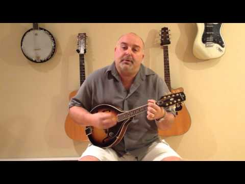 How to Play Copperhead Rd - Steve Earle (cover) - Easy Mandolin 3 Chord Tune