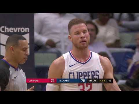 LA Clippers vs New Orleans Pelicans Full Highlights 1-28-18