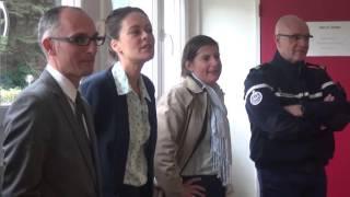 Opération de sécurité routière 10 de conduite - Collège des Chaumes - Édition 2015 à Avallon (89)