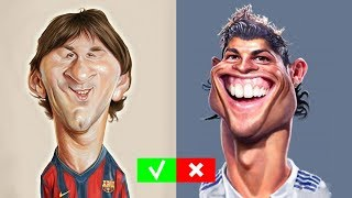 CAN YOU GUESS THE FOOTBALL PLAYER BY HIS DRAWING QUIZ FOOTBALL - GOAL24