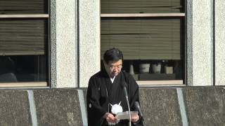 2013年1月4日の知事年頭あいさつ.