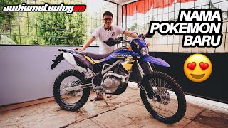 NAMA UNTUK POKEMON BARU!!! | KLX 150 BF