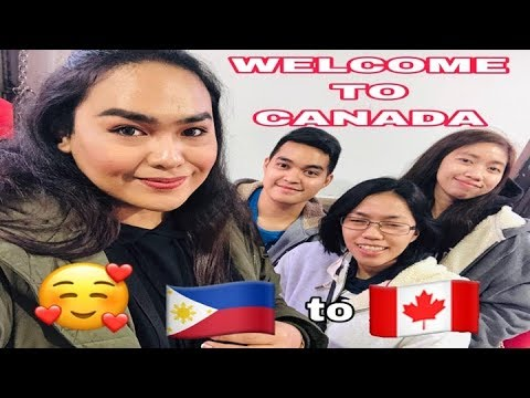 FLIGHT FROM PHILIPPINES TO CANADA VLOG | Pinoy Toronto Vlog | S01E01 | Ace Agcaoili