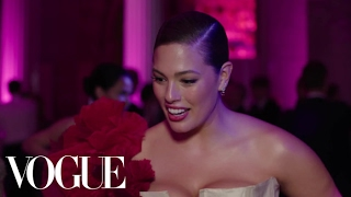 Ashley Graham on Her First Met Gala | Met Gala 2017