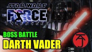 Star Wars: The Force Unleashed - BOSS BATTLE: STARKILLER VS DARTH VADER