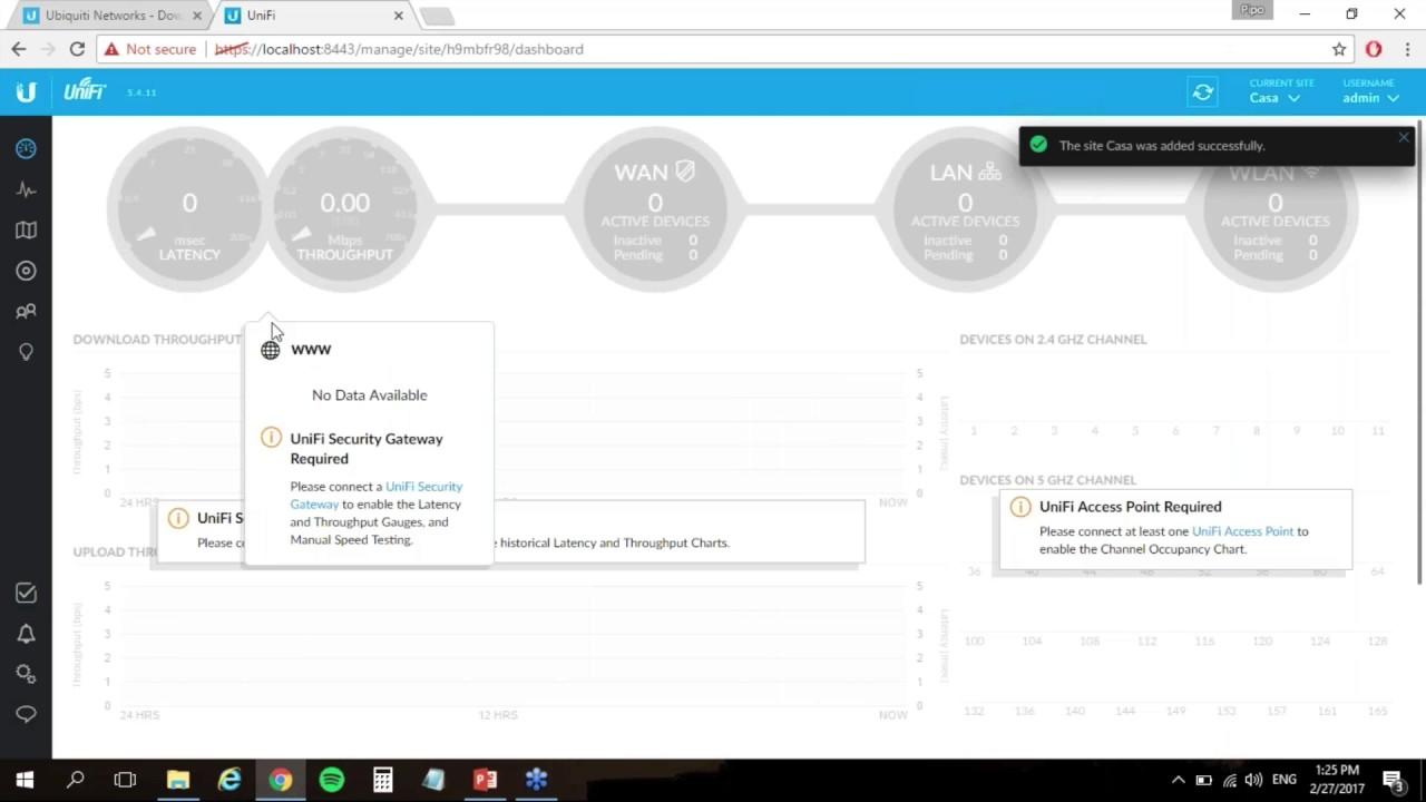 Controlador UniFi: Instalación y configuración