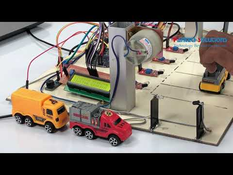 Smart Parking System using ARDUINO with Node MCU