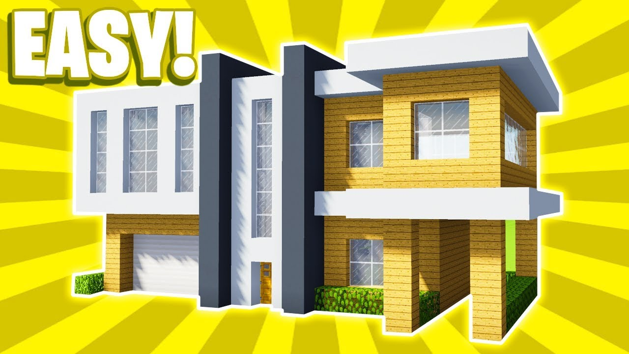 Minecraft  How To Build A Large Modern House Tutorial   18  Pc  Xboxone  Ps4  Pe  Xbox360  Ps3