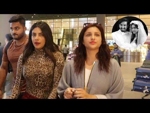 Priyanka Chopra Arrives To Attend Ranveer Singh & Deepika Padukones Wedding Before Her Marriage