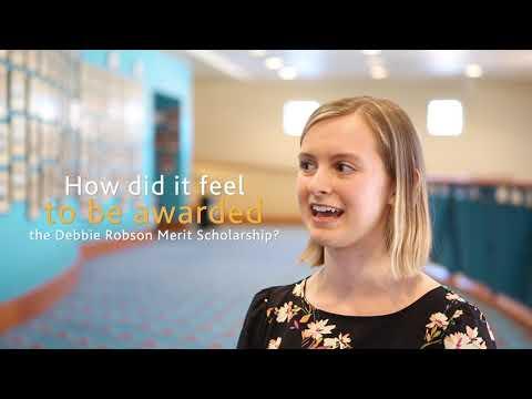 Debbie Robson Merit Scholarship | 2019 Recipient