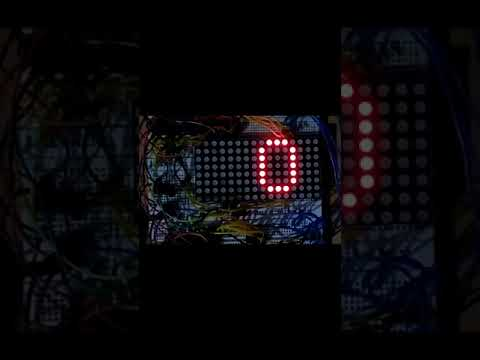 LED Scrolling Display Board Circuit Using AVR Microcontroller