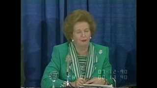 Margaret Thatcher On Protectionism