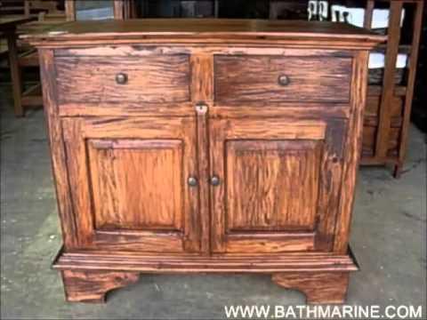 Bathmarine es liquidacion muebles r sticos coloniales Muebles auxiliares baratos