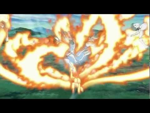 Naruto and Killer Bee vs Itachi and Nagato-AMV (Skillet-Rebirthing)