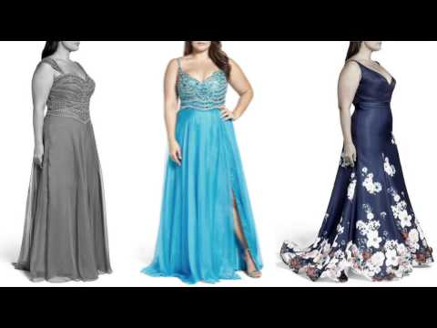 Вечерние платья для полных 2017