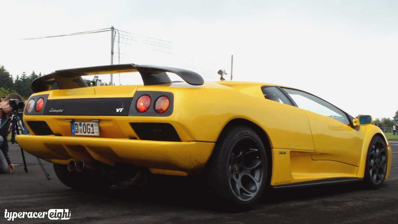 Lamborghini Diablo Vt 6 0 Loud Sounds Youtube