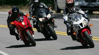 V-Twin Sportbike Comparison Review