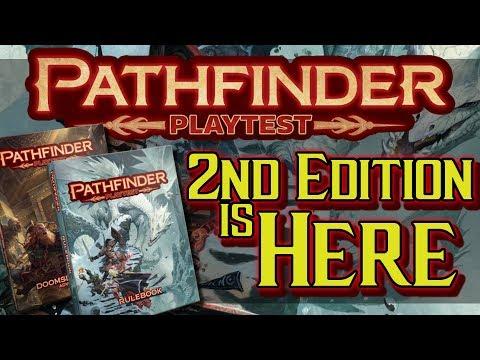 Pathfinder 2nd Edition and Pathfinder Playtest NEW GAME MECHANICS